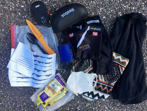 Packliste Einkaufen und Kleidung Ultracycling
