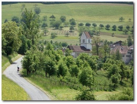 Langstreckenradfahrens Brevet Audax Randonneurs Belchen Satt