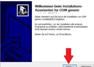 OSM Karte auf Windows installieren
