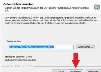 OSM Karte auf Windows für Navigation mit GARMIN installieren