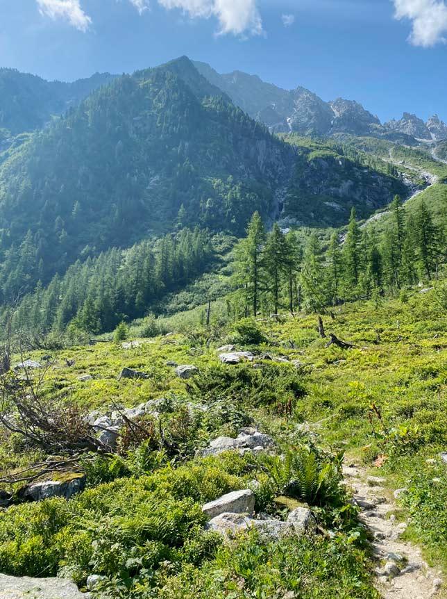 Bikepacking Tour du Mt Blanc 1